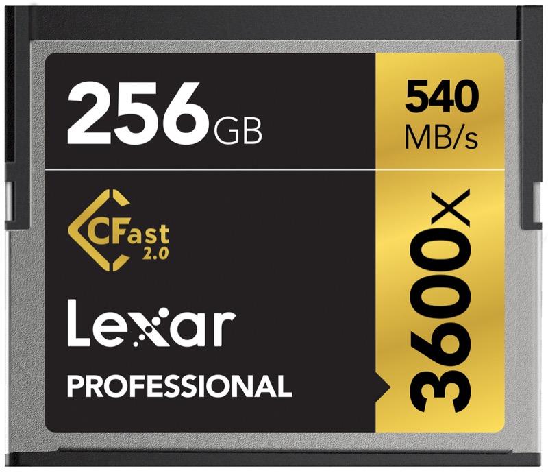 Lexar Professional CFast2.0 x3600 540mb/s