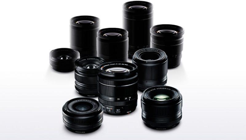 FUJIFILM X-mount lens