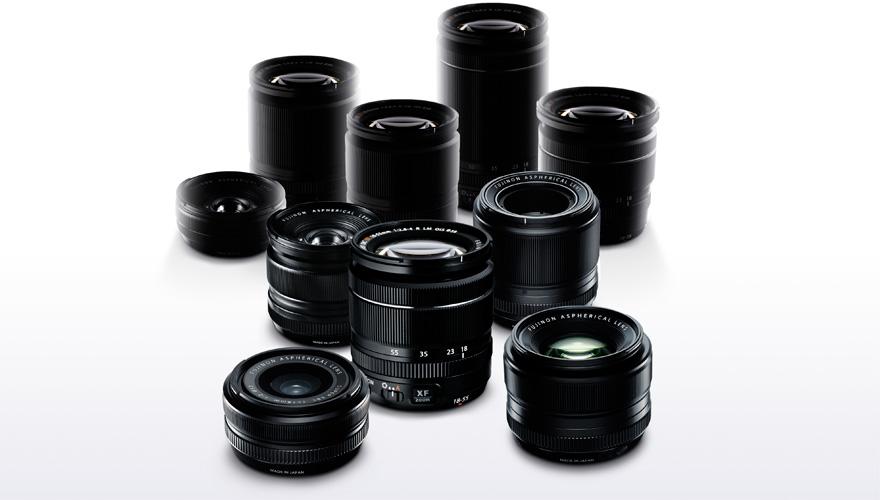 FUJIFILM X mount lens