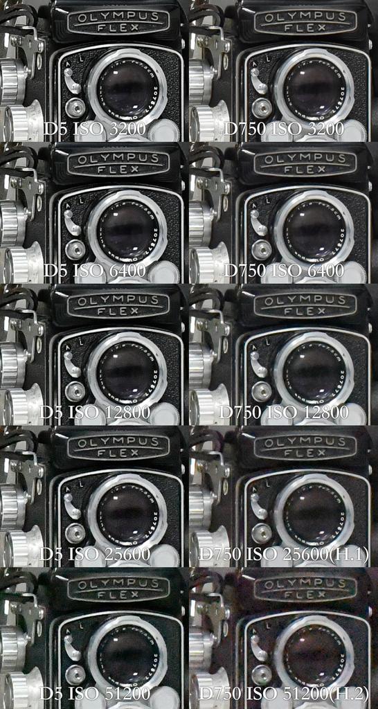 Nikon D5高感度性能