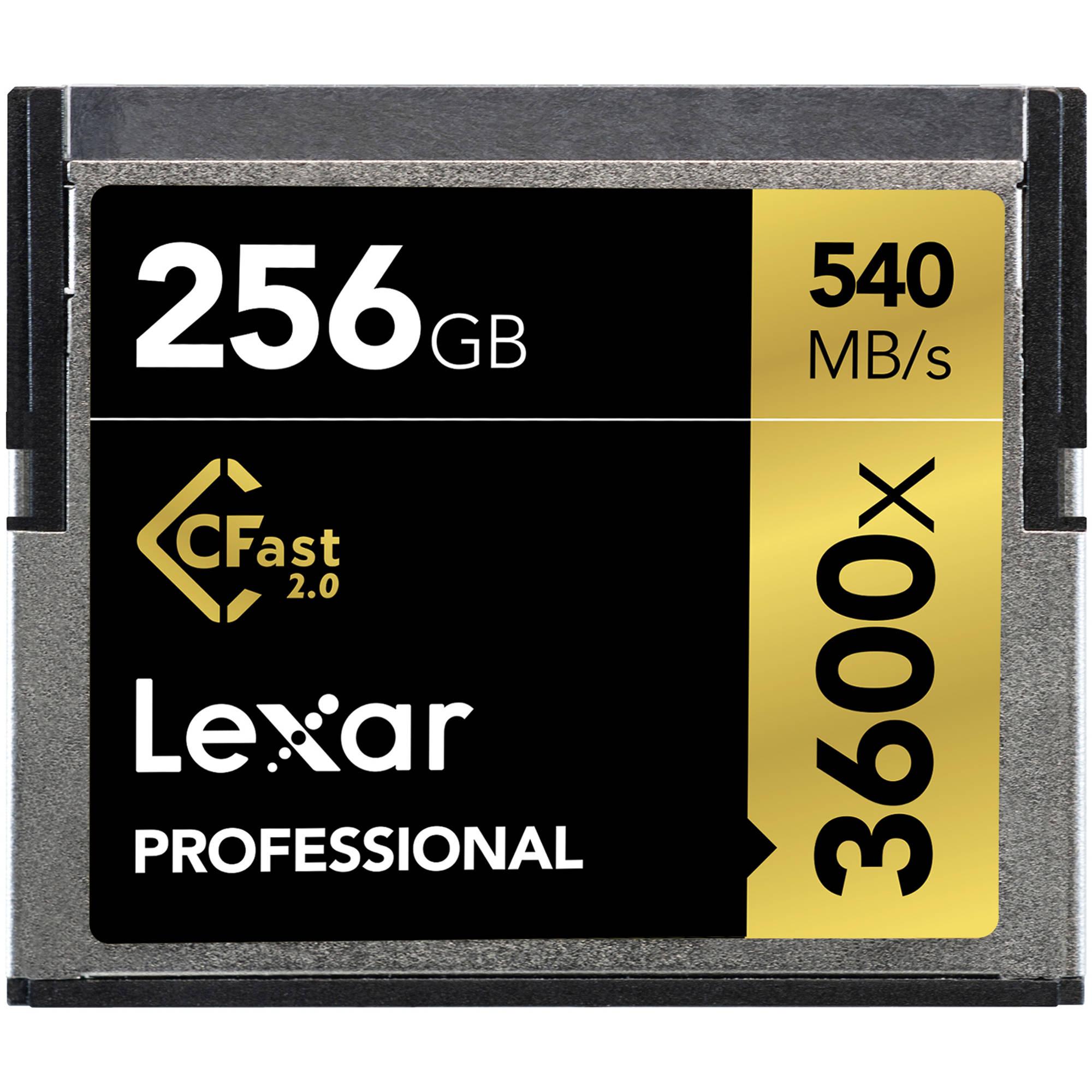 Lexar CFast 256GB