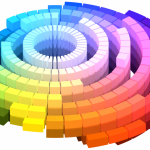 色の考え方、マンセル色立体の上下は何を表す?