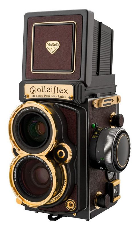 Rolleiflex 4.0 FW TLR Camera(wide angle)