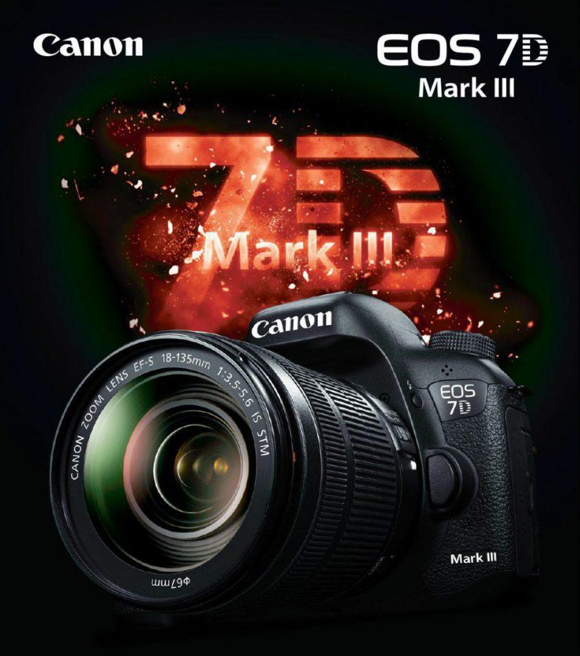 EOS 7D Mark III(7D3)外観デザイン