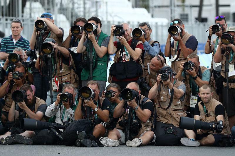 Rio Olympics Photographer Canon vs Nikon