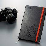 カメラファン必携!Nikon F3を模したモレスキンの高級ノートブックが登場!