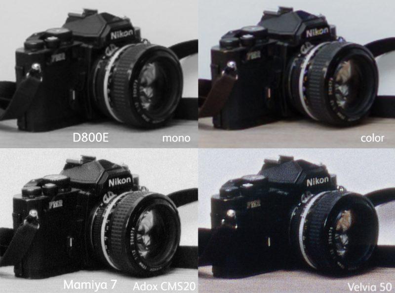 フィルム vs デジタル