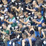 カメラメーカーオリンピック対決!キヤノンvsニコンどちらの機材が多いのか!?