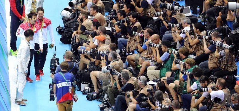 オリンピック機材 キヤノン vs ニコン
