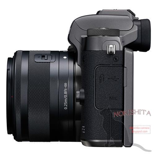 Canon EOS M5(左側面)