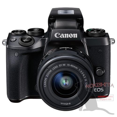 Canon EOS M5(斜め上)