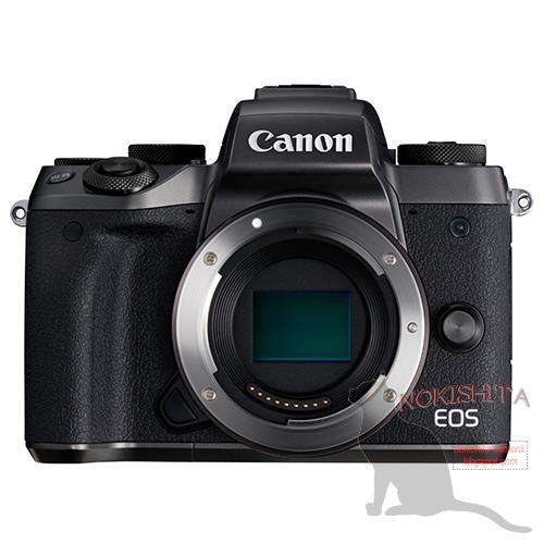 Canon EOS M5(マウント開口部&イメージセンサー)