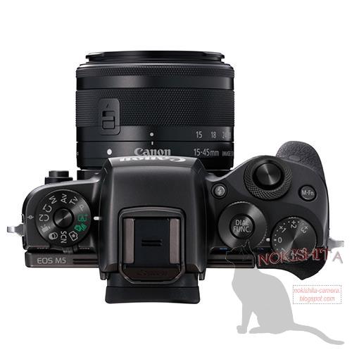 Canon EOS M5(上面)