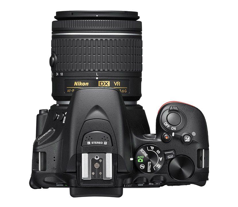 Nikon D5600 上面