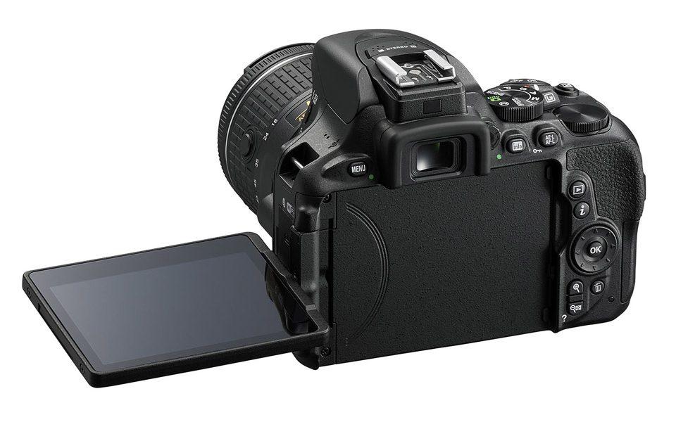 Nikon D5600 背面