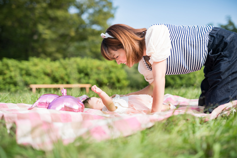 赤ちゃん&ママの撮影依頼