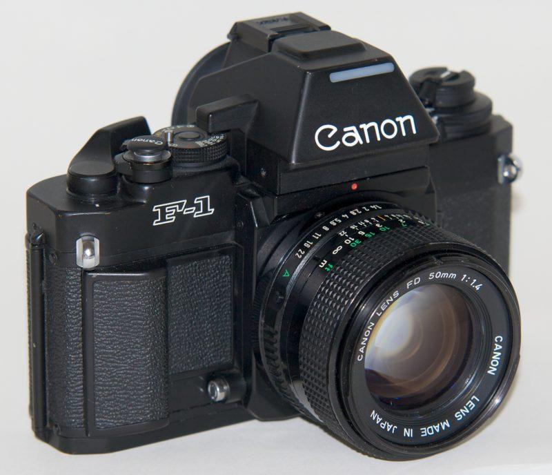 Canon New F-1 AE