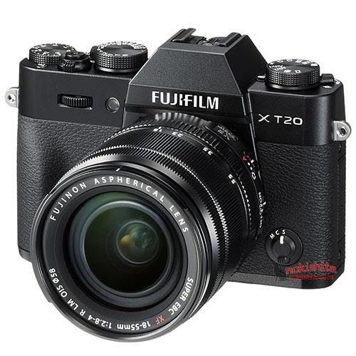 FUJIFILM X-T20 Black