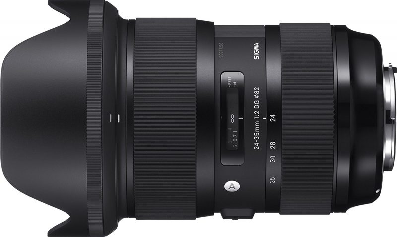 SIGMA 24-35mm F2 DG HSM