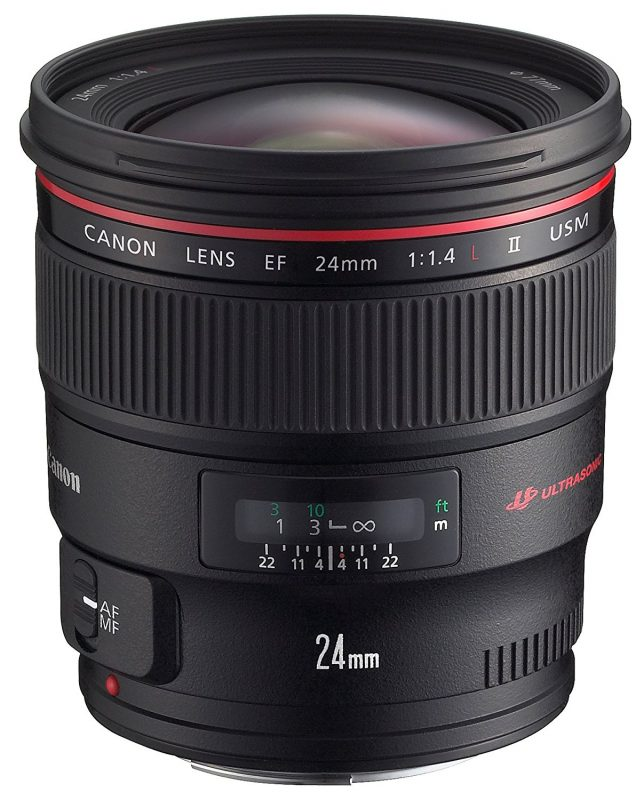 Canon EF24mm F1.4L II USM