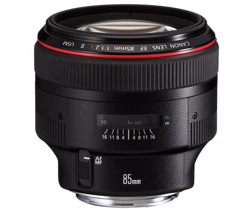 Canon EF85mm F1.2L II USM