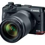 Canon EOS M6はEVF非搭載のコンパクトスタイルで登場!