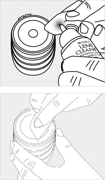 熊野ブラシクリーニングセット(CFCL-100)