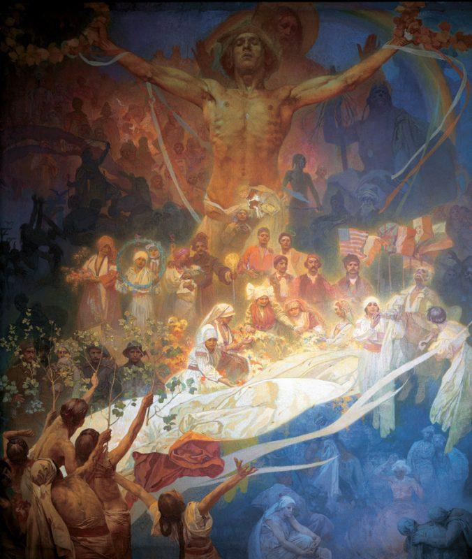 スラヴの歴史の神格化