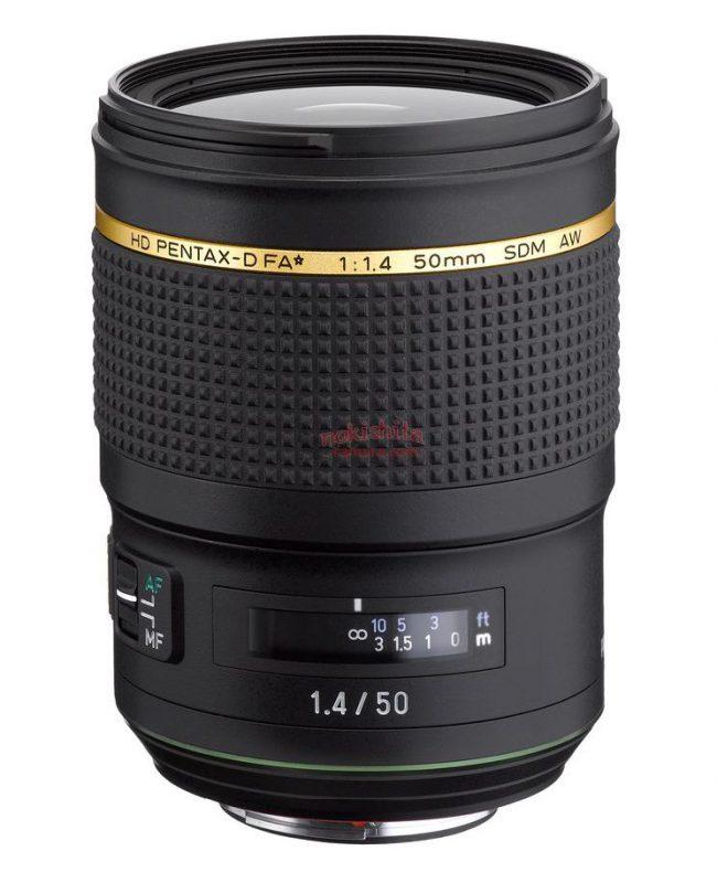 HD PENTAX-D FA★ 50mm F1.4 SDM AW