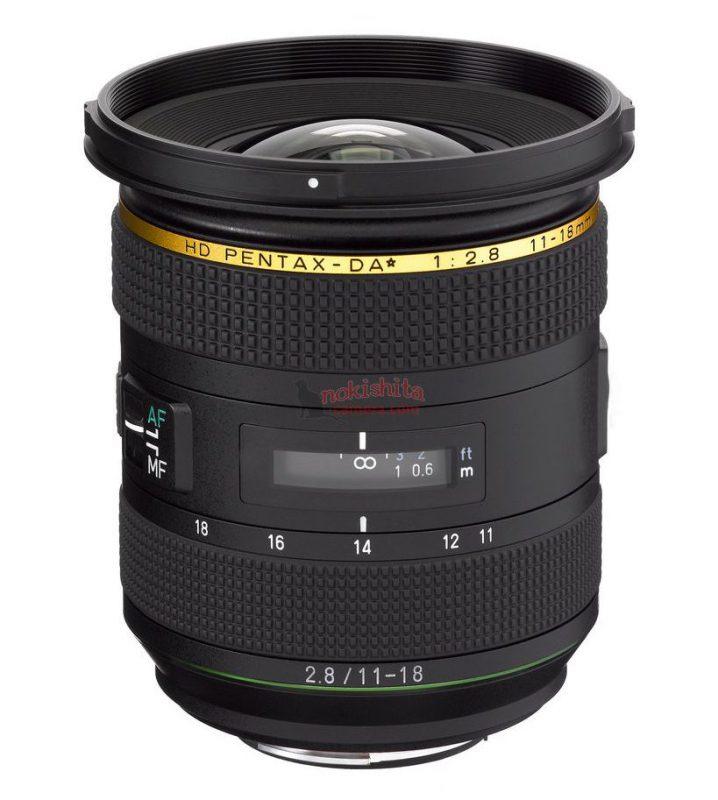 HD PENTAX-DA★ 11-18mm F2.8