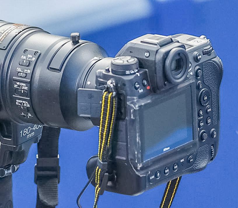 Nikon Z 9 背面